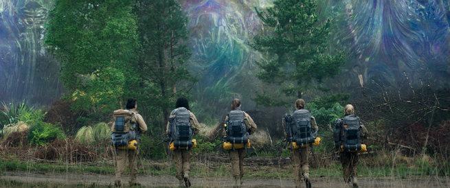 Aniquilación película estrenada en Netflix durante 2018 peliculas de ovnies y extraterrestres