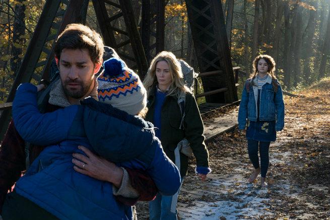"""Críticas: Crítica de """"Un lugar en silencio"""", de y con John Krasinski +  Emily Blunt - Otros Cines"""